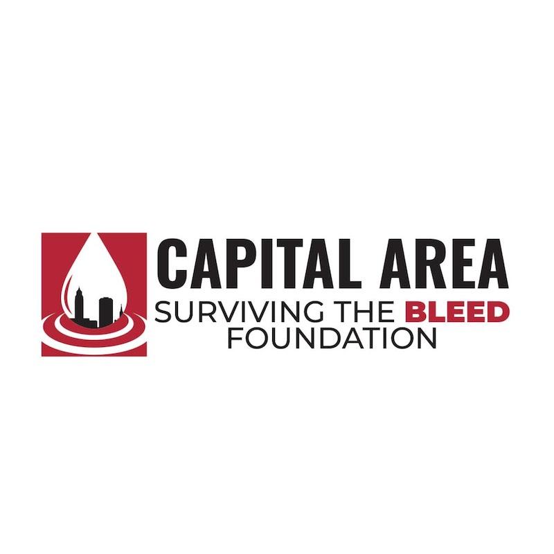 capital area surviving bleed foundation nonprofit logo