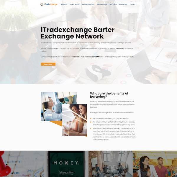 itradexchange louisiana pay by the month website design