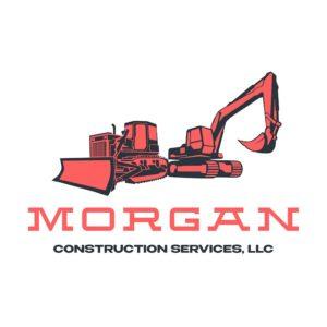 morgan construction services ethel louisiana logo design project