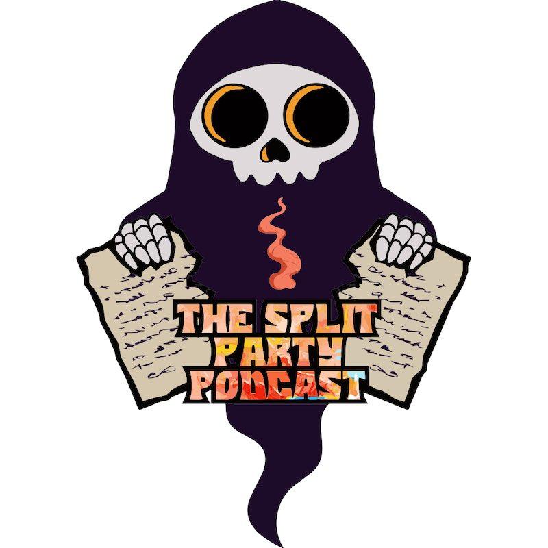 split party podcast logo design denham springs